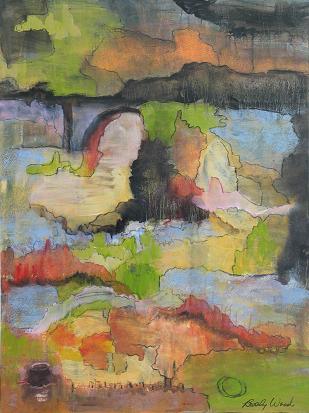 Abstract Garden<br>30x40