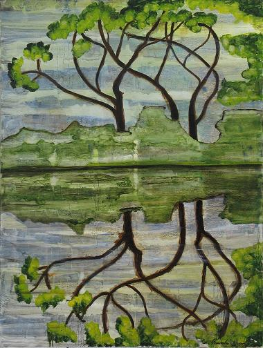 Asian Reflections<br>30x40