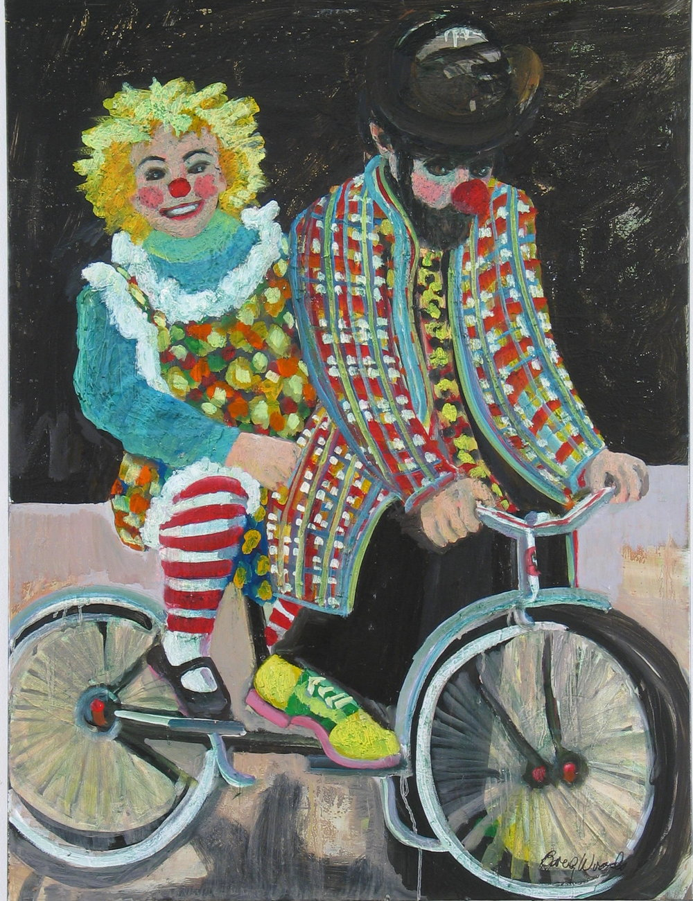 Clowning Around<br>30x40