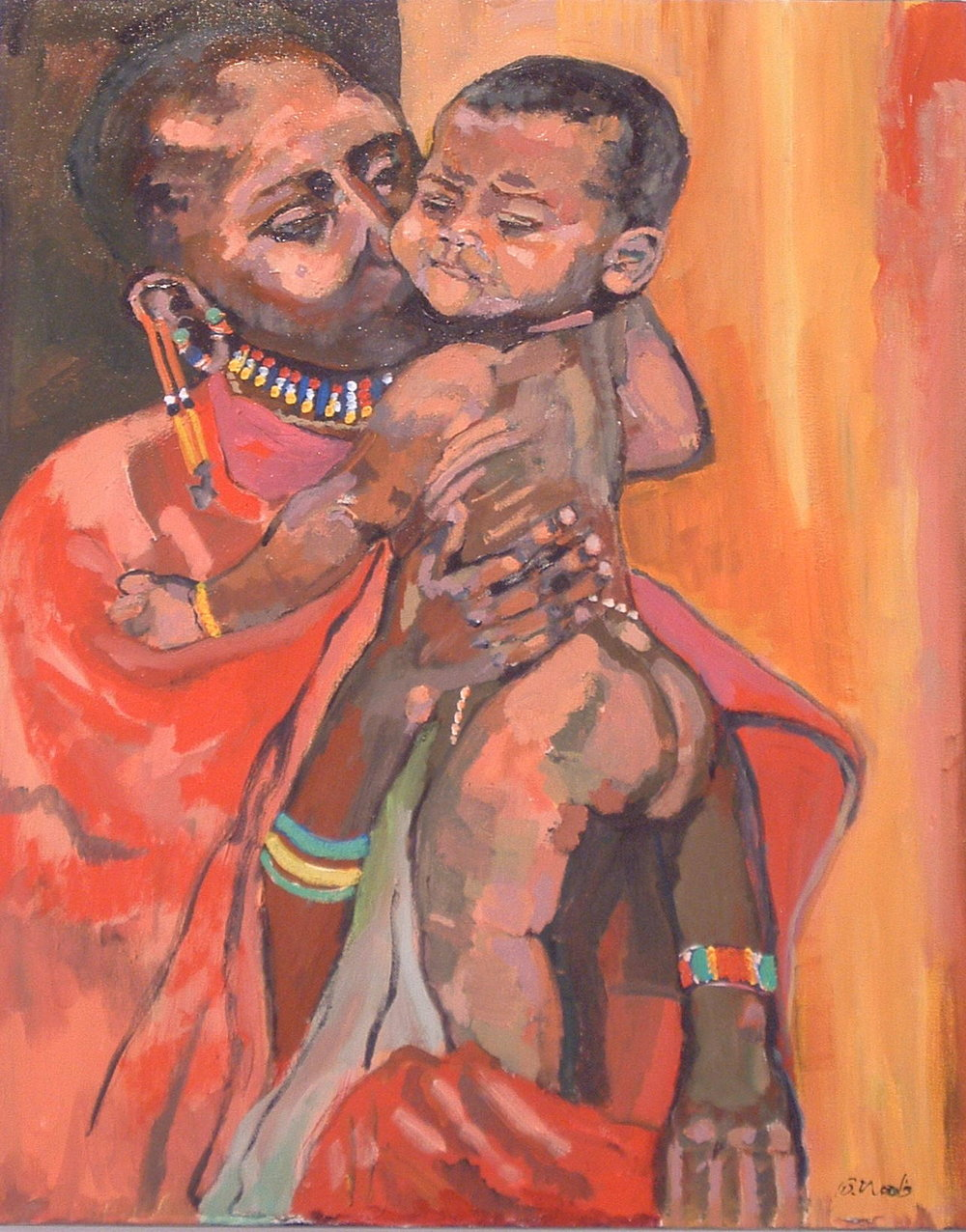 Mother and Child<br>24x30