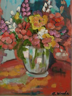 Flowers in Vase<br>8x10