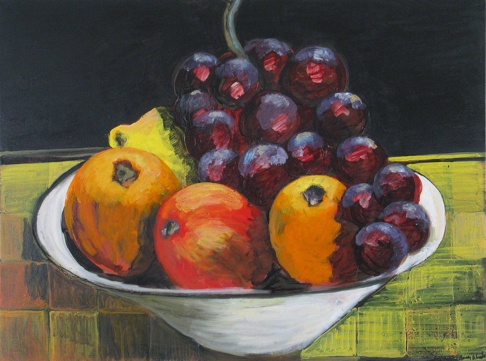 Fruit Study in Bowl<br>30x40