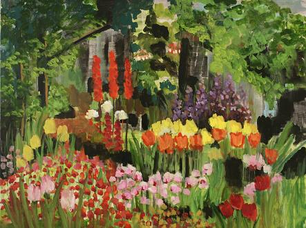 Gardens of the Cape #4<br>30x40