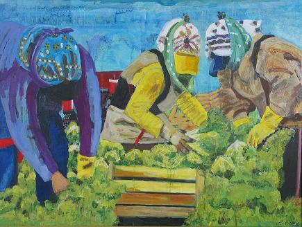 Lettuce Pickers<br>30x40