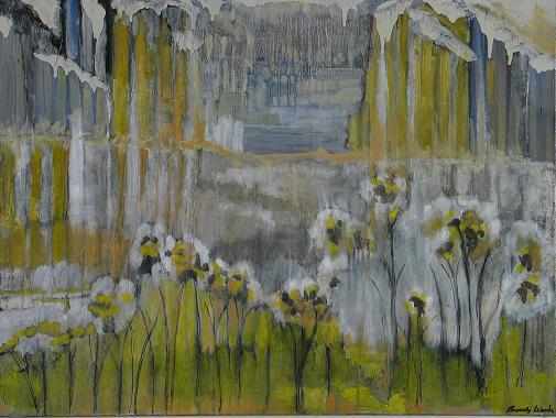 Snow Flowers<br>30x40