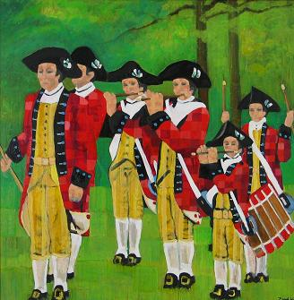 The Fife and Drum<br>48x48