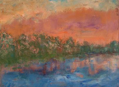 Reflections #22<br>9x12