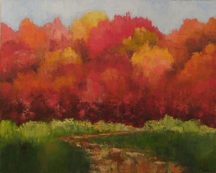 Autumn Brilliance<br>24x30