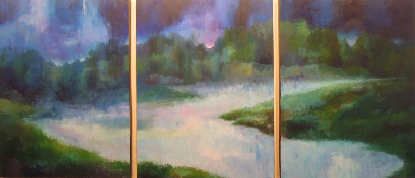 Landscape #72<br>40x90 (triptych)