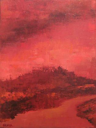 Landscape #138<br>9x12