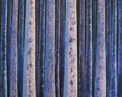 Night Trees #8<br>24x30