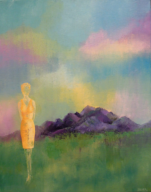 Solitary Figure #634<br>16x20