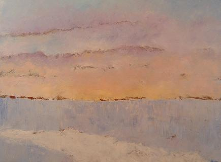 Winter Sunset<br>30x40