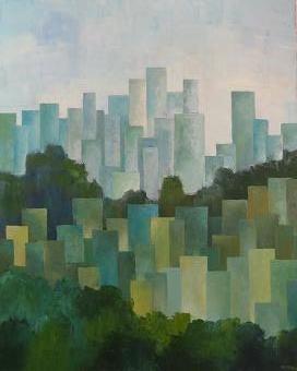 Cityscape #12<br>24x30