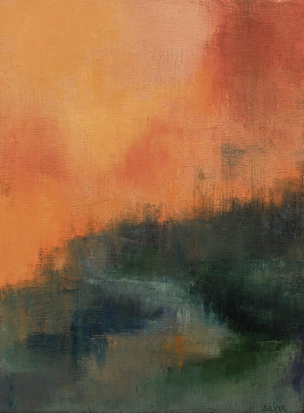 Landscape #540<br>9 X 12
