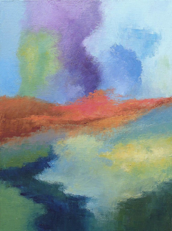 Landscape #746<br>9 X 12