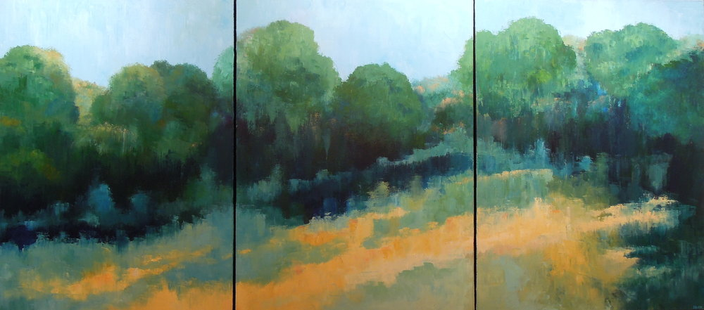 Landscape #752<br>40 X 90 (triptych)
