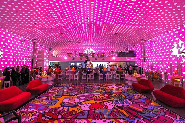Amazing custom dance floor ✔️ Video Mapping ✔️ It doesn't get much better than this! 📸 via @thetemplehouse and a huge shout out to @sarareneeevents . . . . #batmitzvah #celebrationinspiration #customdancefloor #videomapping #eventplanner #favoritethings