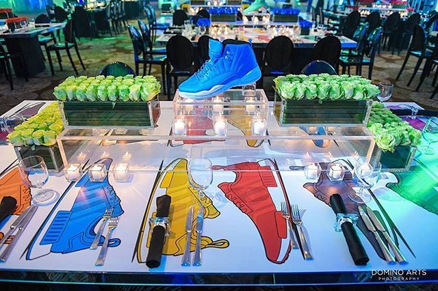 Stepping into a new week with this fabulous #barmitzvah decor. 📸via @xquisiteeventsfl