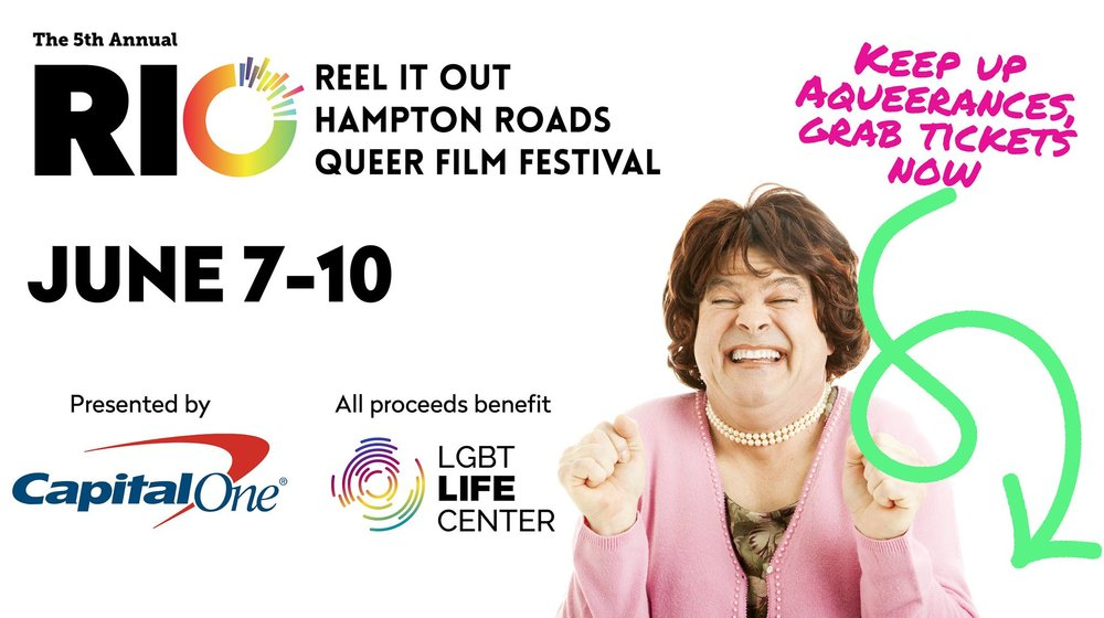 Photo courtesy of Reel It Out Queer Film Festival's Facebook page