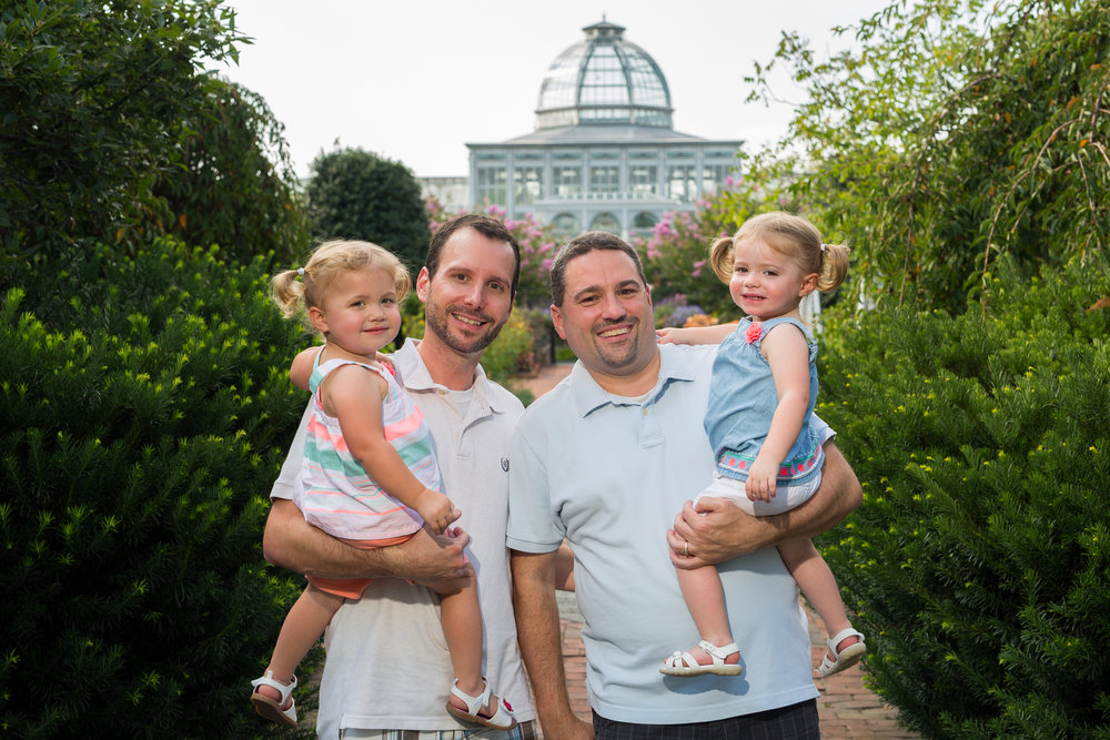 2 guys with kids at Lewis Ginter.jpg