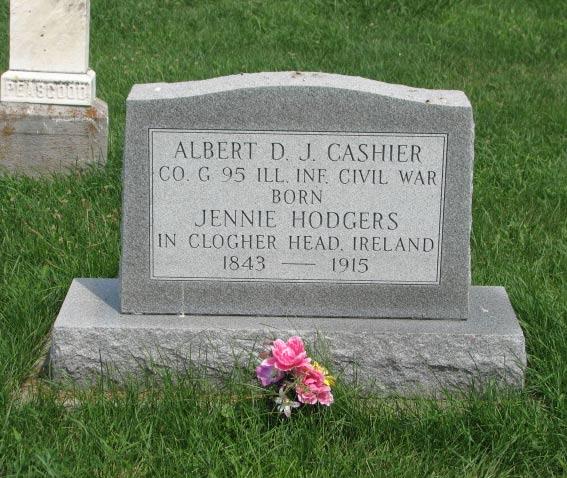 albert cashier's grave.jpg