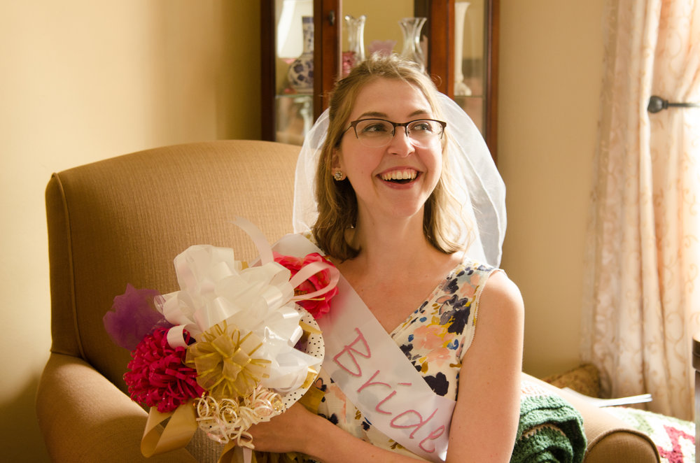 at my bridal shower last year