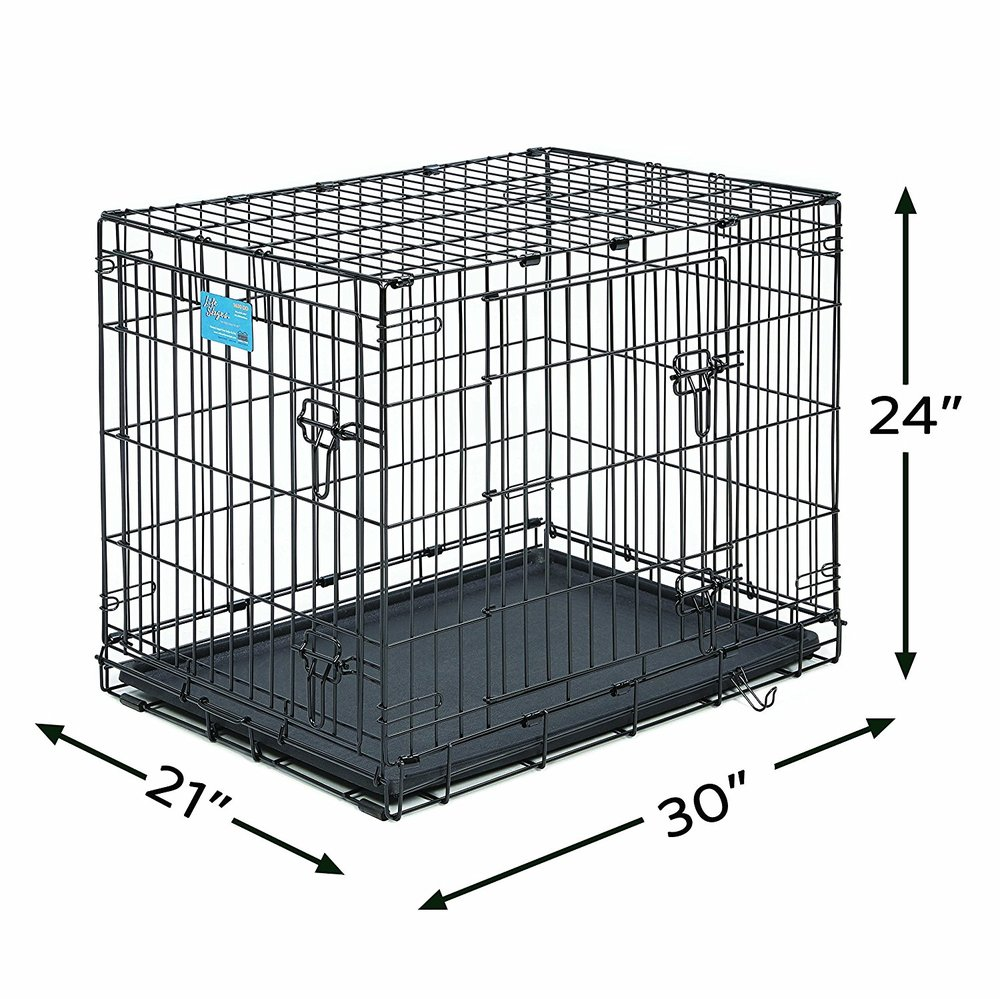 Cockapoo Crate - Whether you will be crate training your Cockapoo or not, this is definitely something we recommend! In a crate training application, the use is obvious. However, in a situation where you are not crate training your dog it is still important that your pup have a place in the home where he or she can go that is safe, comfortable, and all his! We highly recommend having one of these in place.https://amzn.to/2KeFLdS