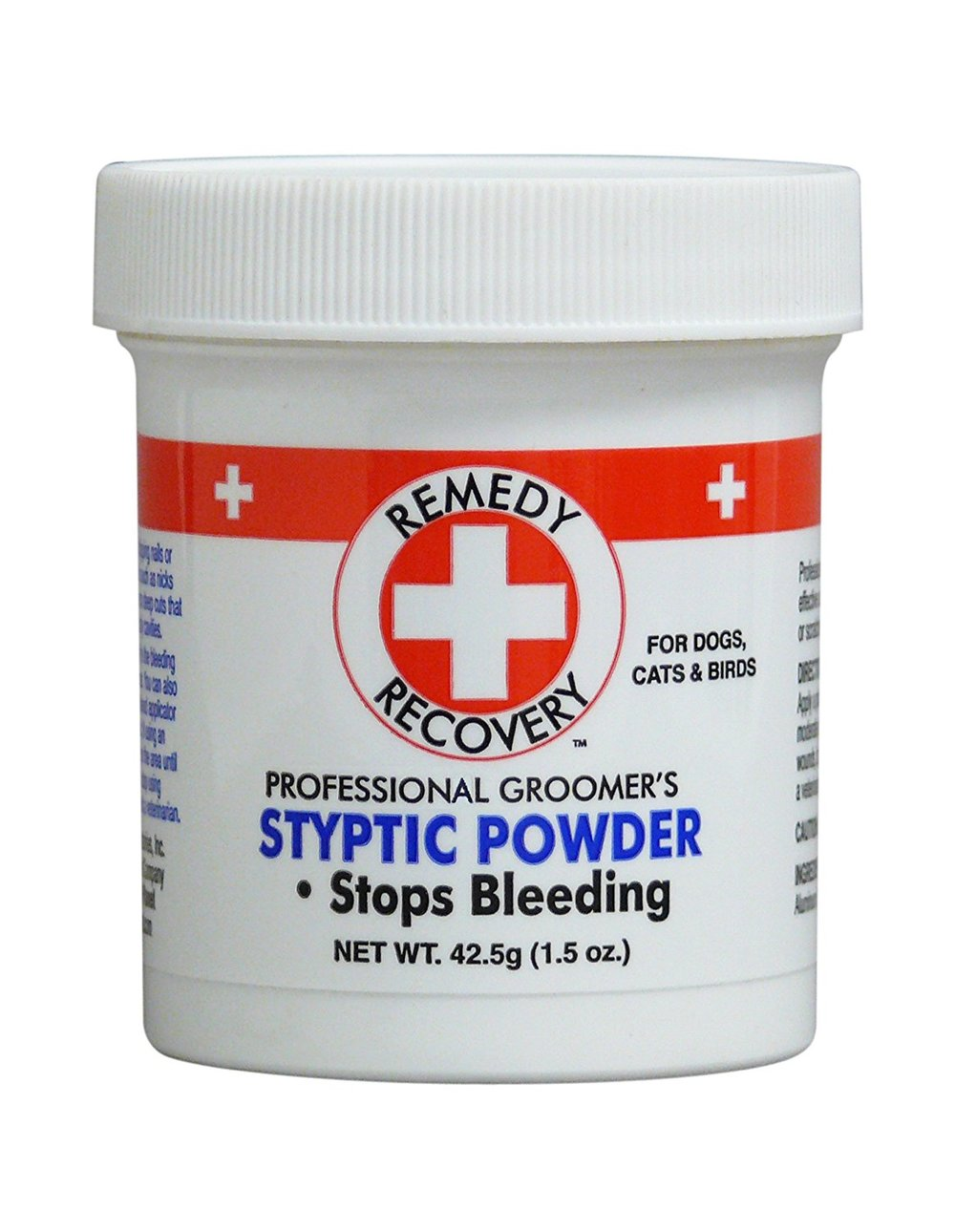 Styptic Powder - This is something you should have on hand if you are going to trim nails at home....and something that is really handy anyway :) In the case that you trim nails too short (which happens.....even at the groomers!) this will stop the bleeding.https://amzn.to/2KcymPB