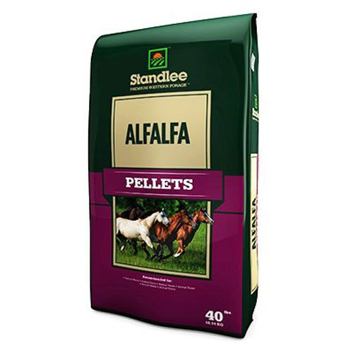 Alfalfa Pellets - This is what we use for