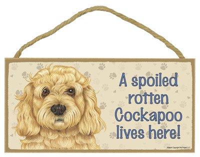 Cockapoo Sign - https://amzn.to/2Ii7PeF