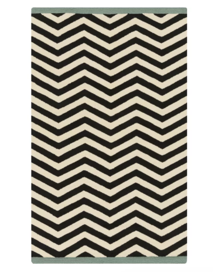 Dwell Studio Chevron Ink Outdoor Rug