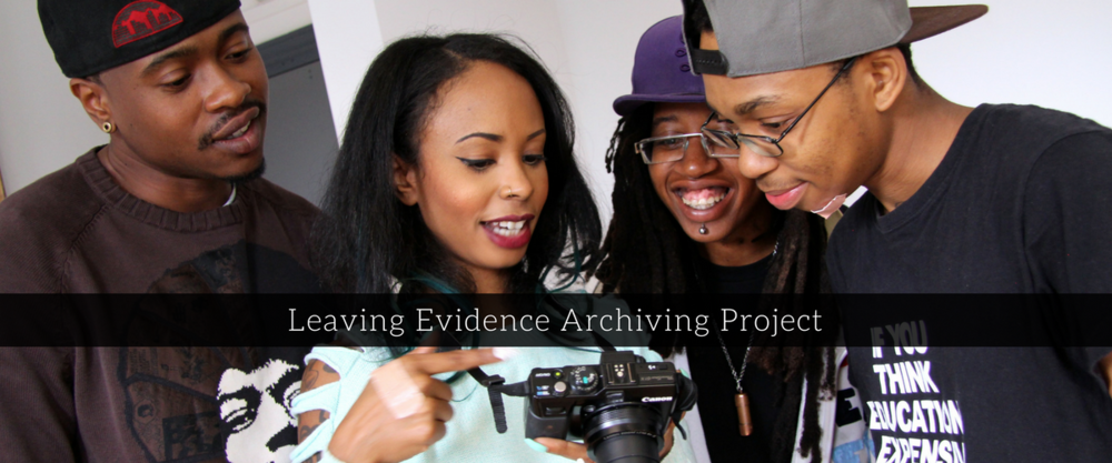 Leaving Evidence is a community archiving project where Queer, Trans, 2 Spirit & Kaleidoscope community members are documented through a variety of mediums sharing their contributions, hopes and fears for our intersecting communities.  Role: Project Coordinator; Planning, executing, and monitoring workshop series, support with project budget, and review of final report