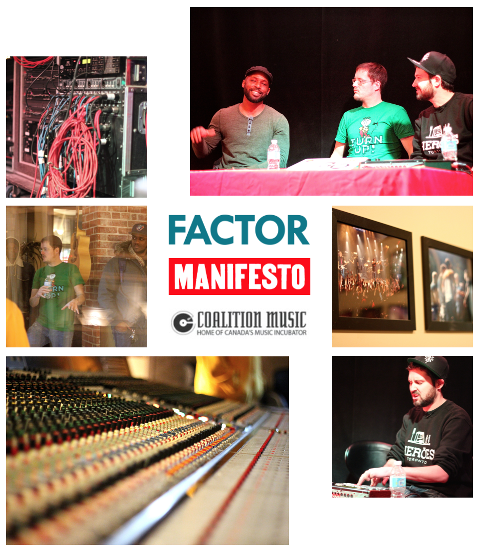 FACTOR Mentorship with Manifesto at Coalition Music
