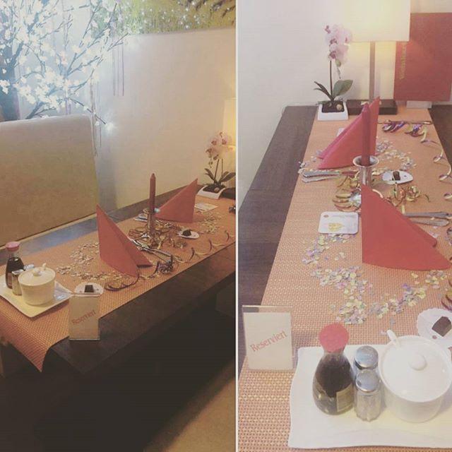 Valentinstag 💘 Reservierung: Tisch für 2 Personen 🎎❤ . . . #valentinesday #love #celle #loveisintheair #memories #takeherout