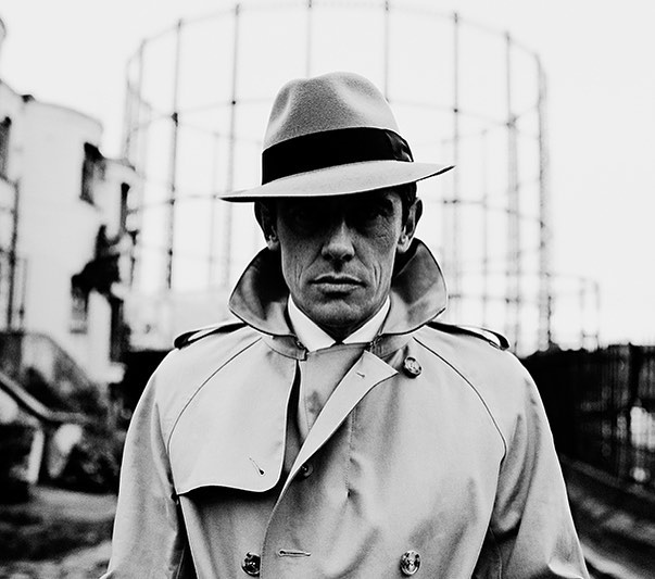 Portfolio styling archive shot... Dig out the raincoats for London weather today, this one @aquascutum and fedora @bates_hats shot by @thomaslavellephotography with legendary model @jesuiswerner Grooming @faiarcher * many moons ago for @therakeonline back in the day! * * * * #menswear #raincoat #fedora #style #fashion #mensstyle #stylist #creativedirector #blackandwhite #malemodel