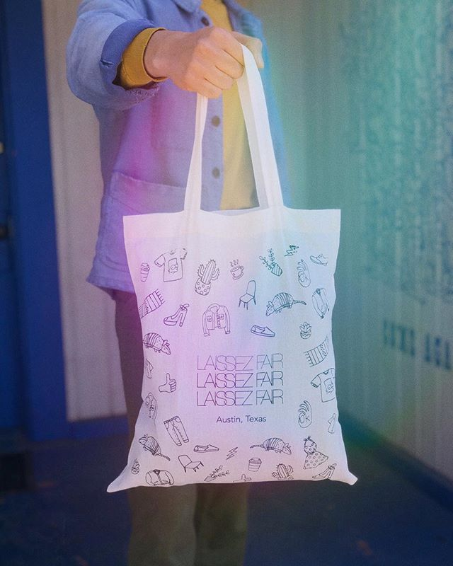 The Official LAISSEZ FAIR TOTE BAG is here!!! 💚 VIP Ticket holders will be receiving this tote when they check-in to the event. The tote will also be on sale for $10 at LF for anyone to purchase. We can't wait to see y'all sporting these around town! #laissezfair  LAISSEZ FAIR FALL 2018 🗓 Sunday, November 4th, 2018 ⏰ 11am - 4pm 📍 Native Hostel (Indoors!)