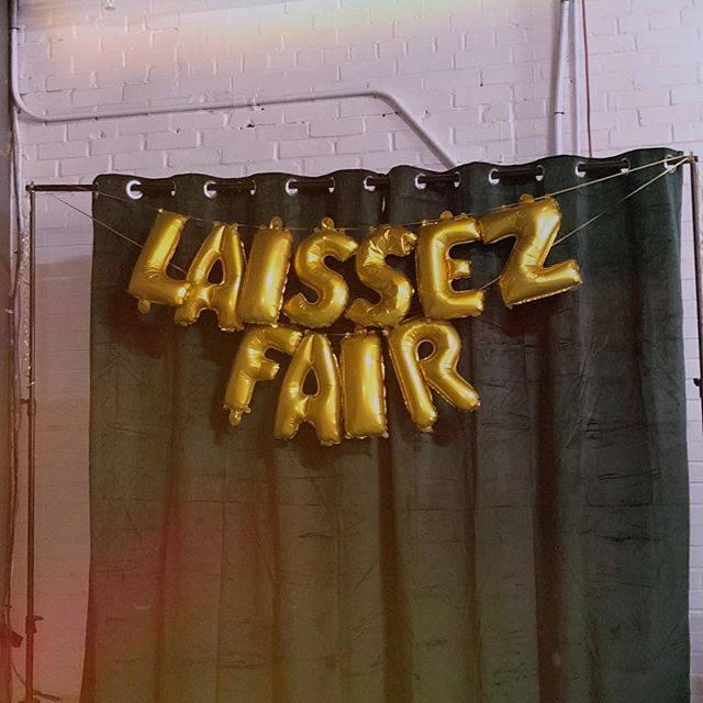 30 minutes left to shop!! at @nativehostels 🌟  LAISSEZ FAIR FALL 2018 (it's FREE to get in)
