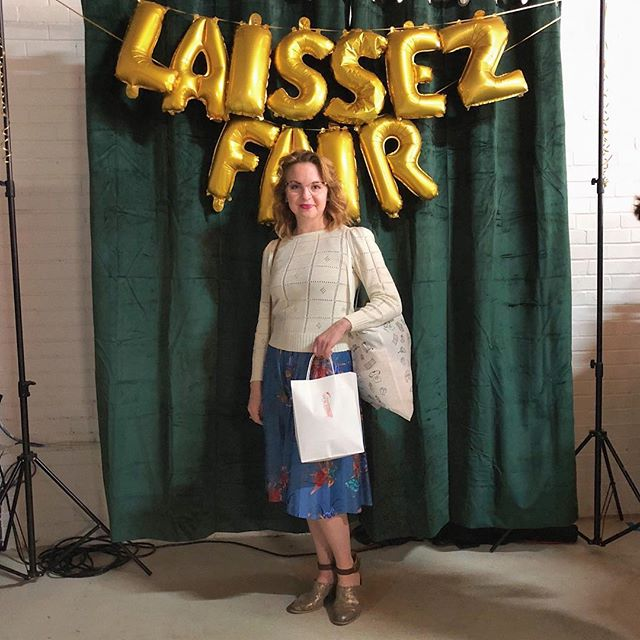 Our LF VIP Raffle winner was Jamie!! She picked out a gorgeous dress from @shop_soft_altars with her LF gift card 🌟 Thank you again too all our VIP's and guests of Laissez Fair, we had a blast! ⠀