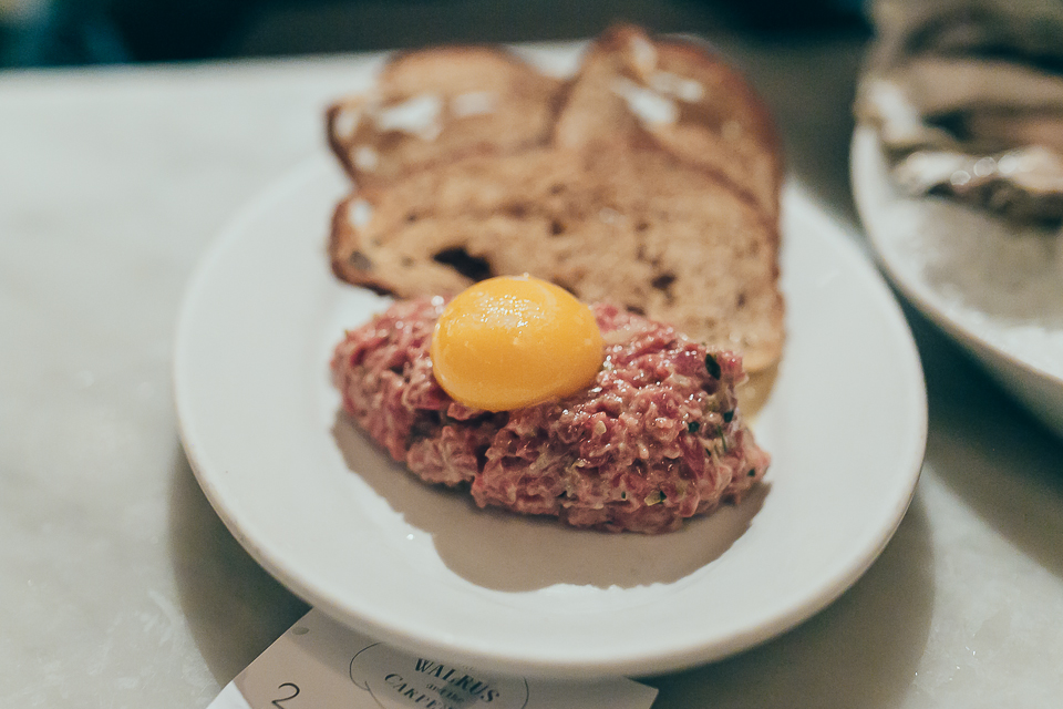 Surprisingly, the beef tartare was my personal favorite.