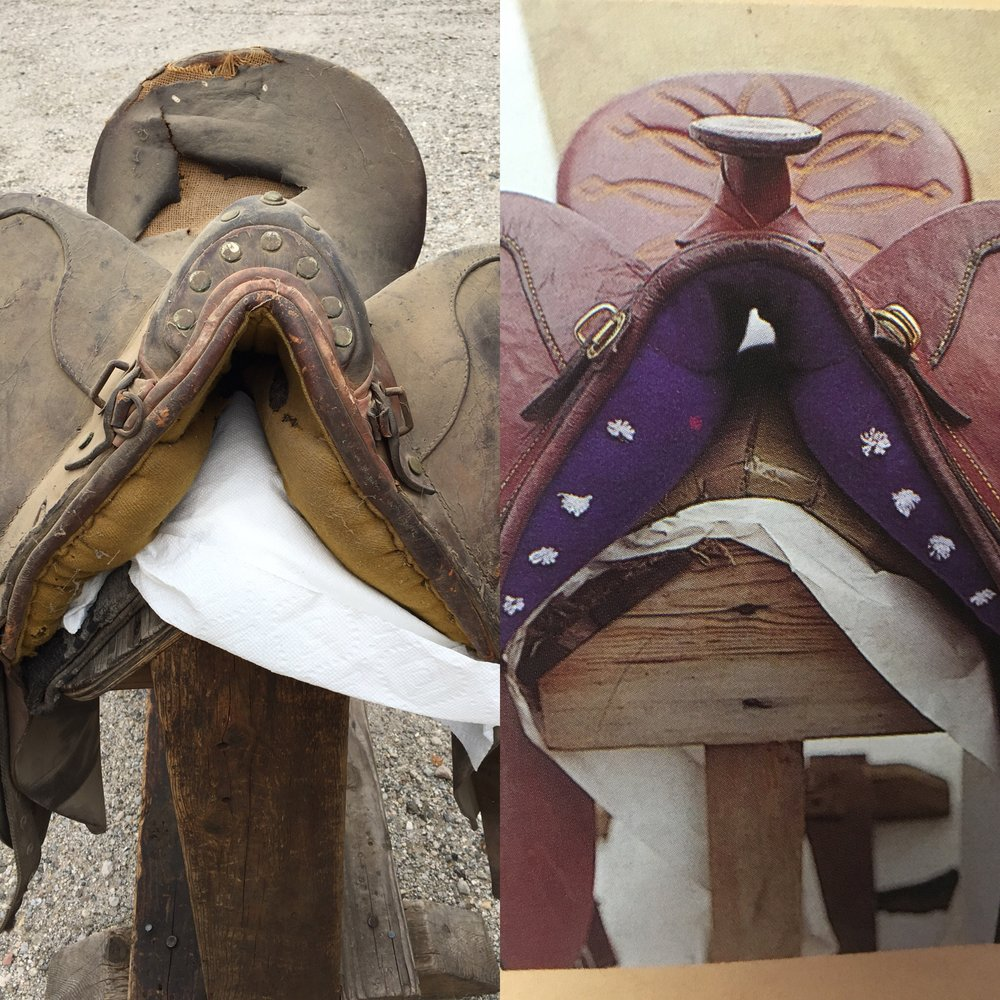 WE REPAIR ANY SADDLE IN ANY CONDITION.     WE ARE SECOND TO NONE IN REPAIRING ALL KIND OF AUSTRALIAN STOCK SADDLES. THAT HAS BEEN OUR BUSINESS FOR ALMOST FOUR DECADES. CALL COLIN  818 3098125 AND HE WILL GIVE YOU A QUOTE.  AS YOU CAN SEE FROM THE ABOVE WORK, HE IS AFRAID OF  NOTHIING!!