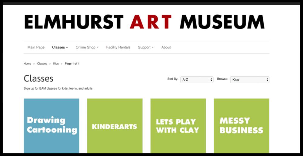 Elmhurst Art Museum, Elmhurst IL