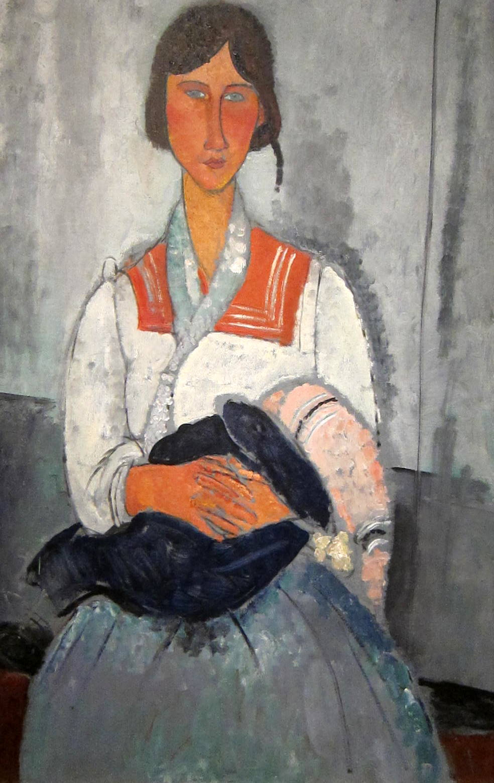 Gypsy Woman and Baby, Amedeo Modigliani