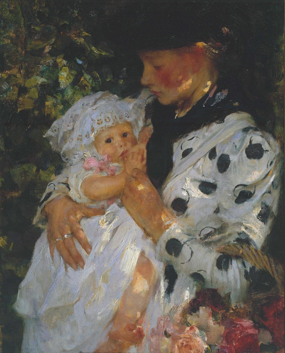 The Flower Girl, Sir James Jebusa Shannon