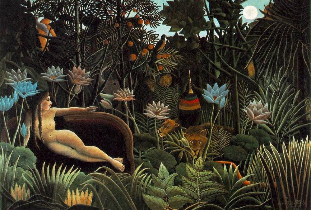 Le Rêve,Henri Rousseau