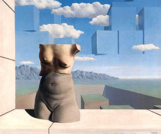 The Summer Steps,   René Magritte