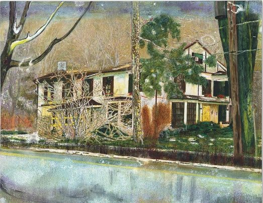 Pine House, Peter Doig