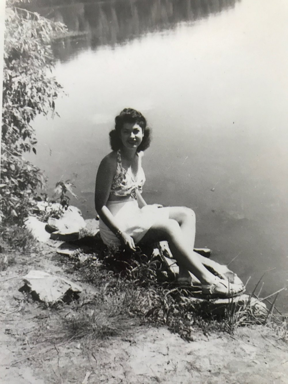 My paternal grandmother, LaVerne.