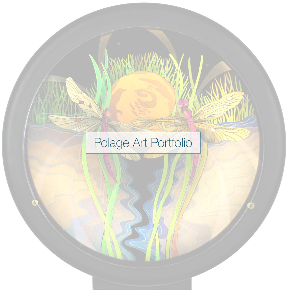 POLAGE ART PORTFOLIO    ___________     SWIPE  OR USE ARROWS TO PAGE THROUGH THE PORTFOLIO     CLICK  TO VIEW MORE DETAIL, VIDEO AND OTHER VIEWS OF A PIECE
