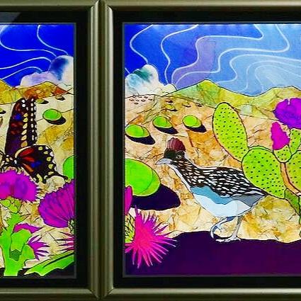 "Desert Colors, 14"" x 43"""